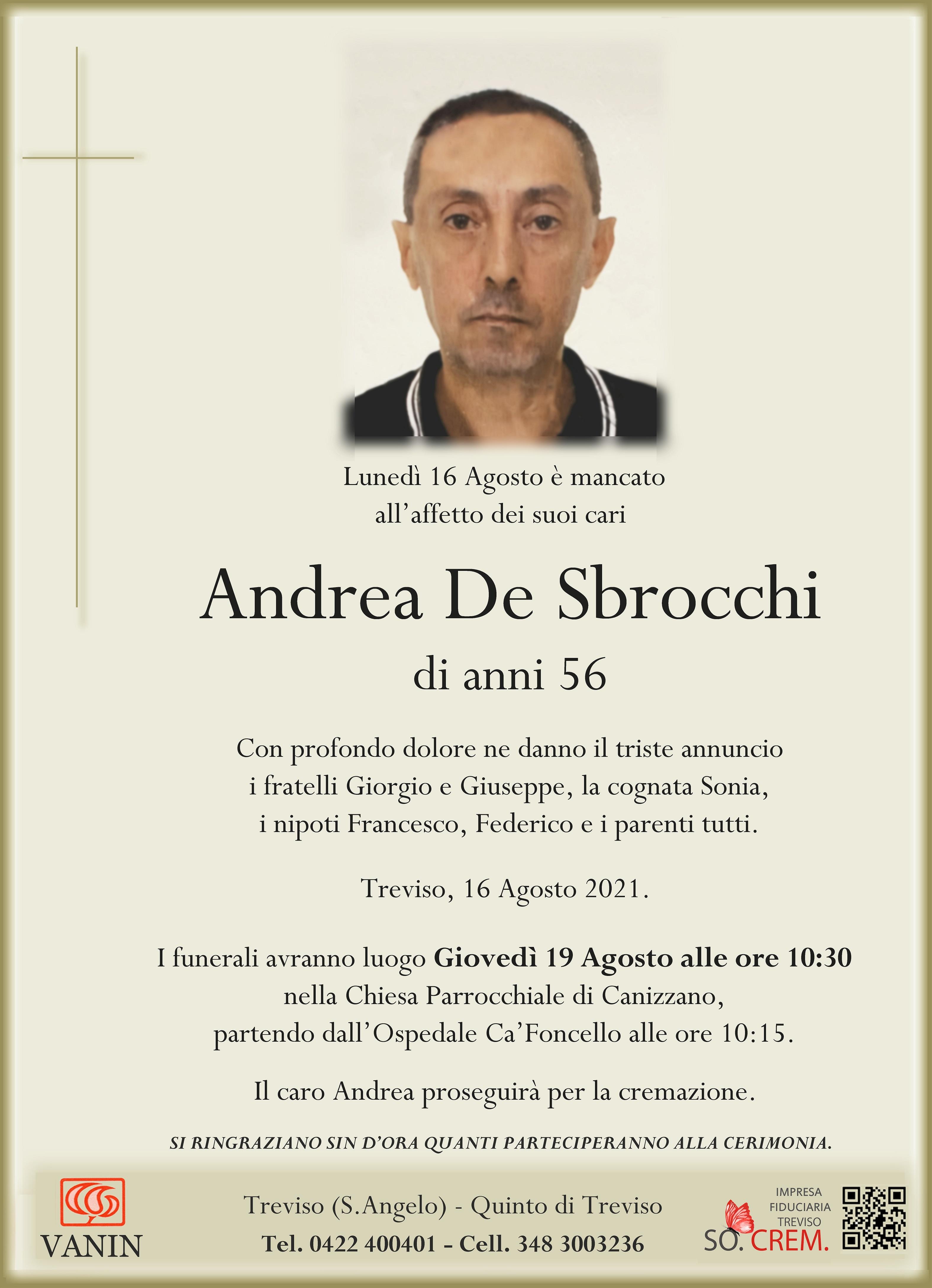 DEF. ANDREA DE SBROCCHI