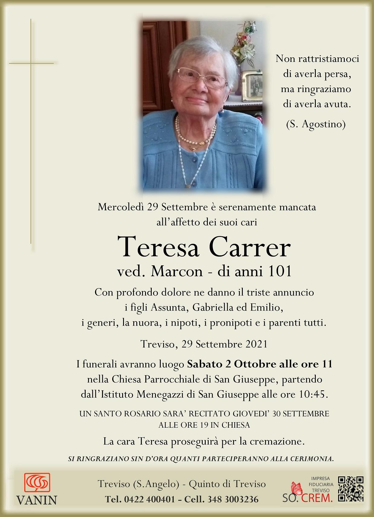 DEF. TERESA CARRER